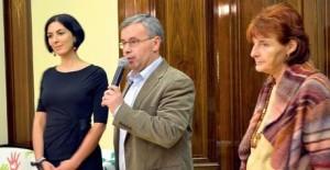 Dražbu zahájili zástupce starosty Michal Švarc, radní Markéta Adamová a ředitelka Klokánku Marie Vodičková
