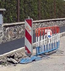 Rekonstrukce vybraných chodníků pokračovala i letos