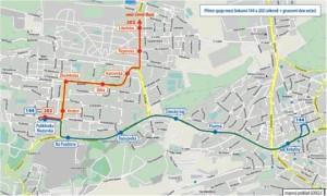 Schéma nového fungování dopravy