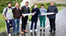 Otevření zrekonstruované části cyklostezky A2 na Rohanském ostrově