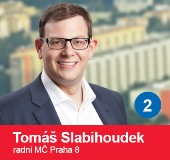Tomáš Slabihoudek, radní MČ Praha 8