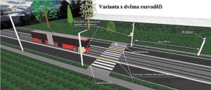 Model systému zvyšující bezpečnost chodců